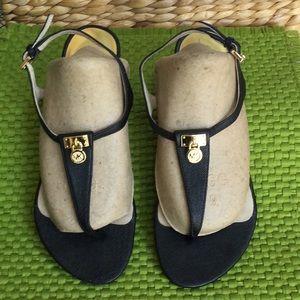 Michael Kors woman's size 6.5 black sandals